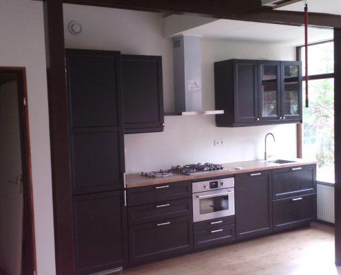 Nieuwe keuken plaatsen Roelof Foppen